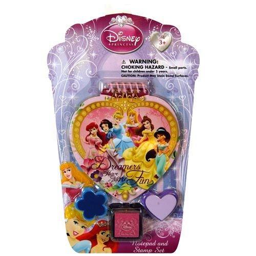 Disney Princess Notepad and Stamp Set