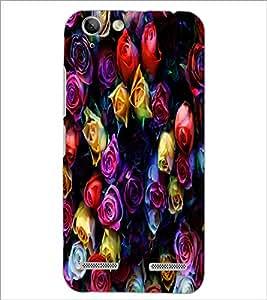 PrintDhaba Roses D-4377 Back Case Cover for LENOVO LEMON 3 (Multi-Coloured)