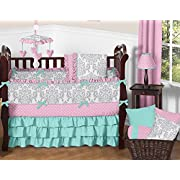 Sweet Jojo Designs Emma Crib Bedding And Accessories