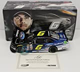 Darrell Wallace Jr Autographed 2015 Ford EcoBoost 1:24 Nascar Diecast