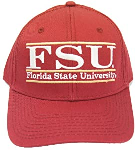Florida State University Adjustable Baseball Cap Hat by The Game
