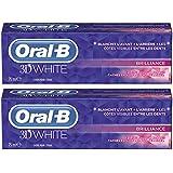 Oral-B Manual Dentifrice 3D White Brilliance 75 ml - Lot de 2