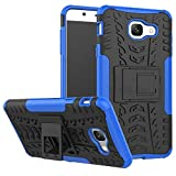 #10: Samsung Galaxy J7 Max ShoppingMonk Hybrid Military Grade Armor KickStand Back Cover Case for Samsung Galaxy J7 Max (Blue)