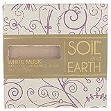 Soil and Earth Natural Handmade Soap- White Musk, 100 gms