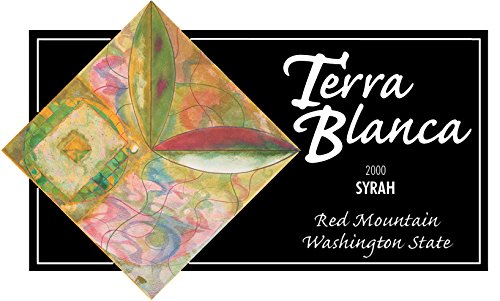 2000 Terra Blanca Estate Red Mountain Syrah 750 Ml