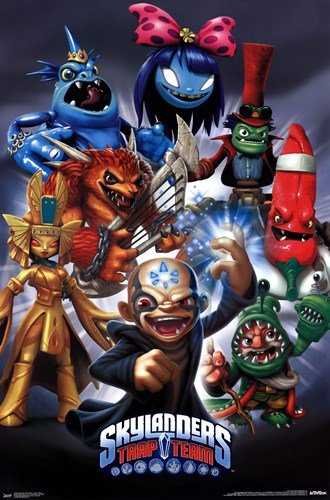 Skylanders Trap Team - Super Villains - 22x34 Inches - POSTER