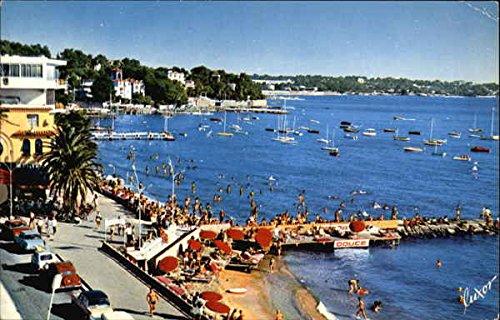 The Cote D'Azur Juan Les Pins, France Original Vintage Postcard