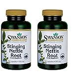 Swanson Stinging Nettle Root 500 mg 100 Caps 2 Pack
