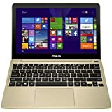 ASUS X205TA 11.6 Inch Laptop (Intel Atom, 2 GB, 32GB SSD, Gold) - Free Upgrade to Windows 10