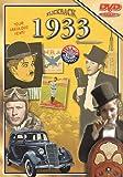 Flickback 1933 Flickback DVD Greeting Card - Commemorative Gift Year DVD1933
