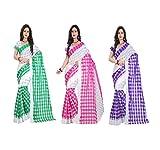 RadadiyaTRD Present set of 3 saree combo