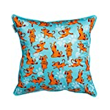 The Crazy Me My Pet My Best Friend Cushion Cover(16 By 16 Inch)