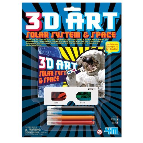 4M 3D Art Solar System and Space Kits - 1