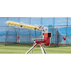 Trend Sports Heater Baseball Pitching Machine Xtender 24