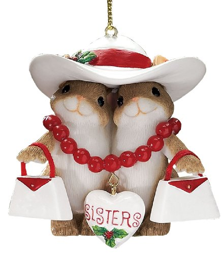 Miles Kimball Dean Griff Sisters Charming Tail Ornament