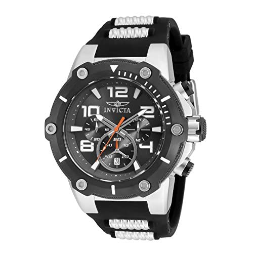 Popular 10 Quartz Watches For Mens With Black Dial Chronograph Display