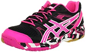 ASICS Women's Gel-1140V Running Shoe,Black/Hot Pink/White,8.5 M US