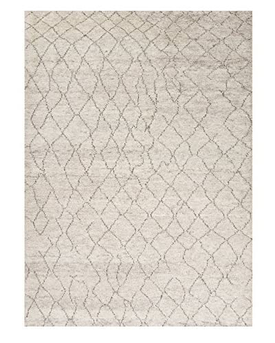 Jaipur Rugs Hand-Knotted Soft Hand Rug, Ivory/Brown, 2' x 3'
