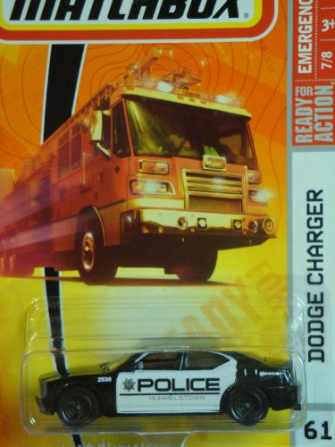 Matchbox Series Dodge Charger Police Scale 1/64 #61 (Matchbox Dodge Charger compare prices)