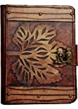 A little Present Old Winter Leaf On A Vintage Leather Cover Case for Kindle 4/5/Kindle Paperwhite/Kindle