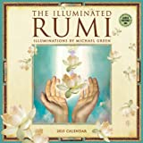 Illuminated Rumi by Michael Green 2015 Wall Calendar