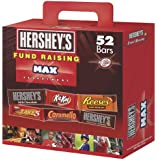 Hershey's Fund Raising Max Assortment (Hershey's, Reese's, Kit Kat, Take 5 & Caramello), 52-Count Bars