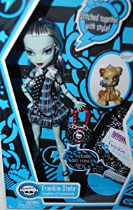 Monster High Frankie Stein Doll Daughter of Frankenstein
