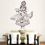 Hoopoe Decor Lord Krishna Wall Stickers And Decals - B011GT5WFG