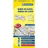Carte DPARTEMENTS Indre-et-Loire, Maine-et-Loire