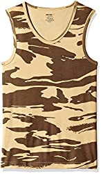Killer Mens Cotton Vest (KLVST-1006NS-1 BDYFT ARMPRNTS_Army Prints_Large)