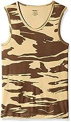 Killer Mens Cotton Vest (KLVST-1006NS-1 BDYFT ARMPRNTS_Army Prints_Large)