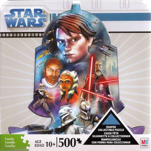 Cheap Hasbro Star Wars The Clone Wars Shaped Collectible Puzzle (B003ETNUWO)