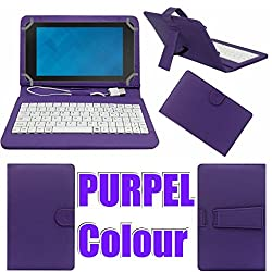 MBW Keaboard HighQuality Flip Flap Case Cover For iBall Slide Octa A41Purple Colour