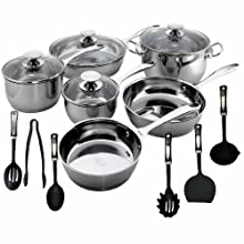 Berndes Cucinare 16 Piece Induction Cookware Set