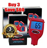 FenderSplendor FS688 Paint Meter / Gauge. Buy 3 pak & Save $63... 15,000 Meters Sold to Date, Sold and Warrantied in the USA with 3 Year Exchange Warranty. Avoid $3000 Losses When You Miss Paintwork.