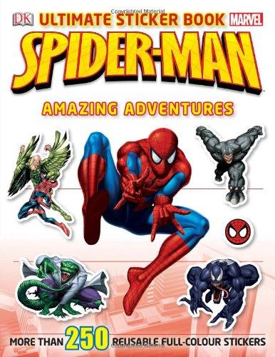 Spider-Man Ultimate Sticker Book Amazing Adventures
