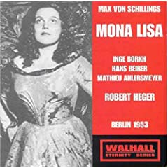 Schillings : Mona Lisa [UK-Import]