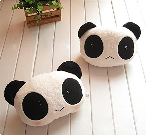 ZD-Moon One Pair Lovely Cute Panda Car Seat Head Rest Neck Cushion Pillow (Car Seat Covers Moon compare prices)