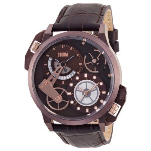 [ストーム]STORM 腕時計 DUALON BROWN レザーストラップ 47147BRBR メンズ 【正規輸入品】