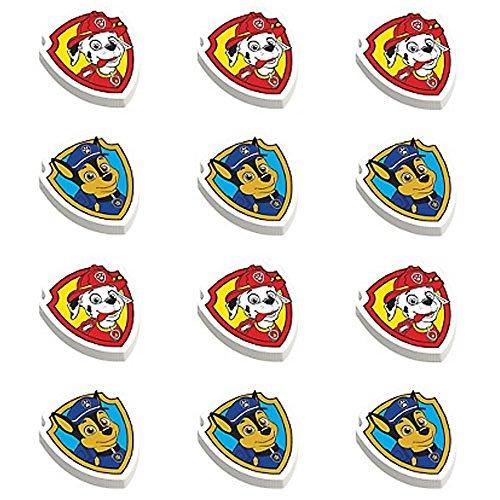 Paw Patrol Erasers (12ct)