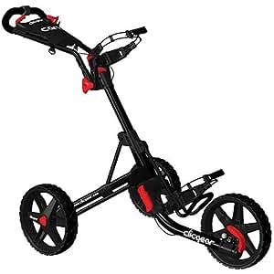 Clicgear 2.0 Push Cart Black 3 Wheel