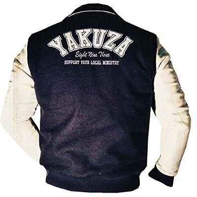 Yakuza ORIGINAL College Jacke - WB 534 schwarz / beige NEU S-3XL NUR WENIGE DA