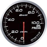 日本精機 Defi (デフィ) メーター【Defi-Link ADVANCE BF】油圧計 (ホワイト) DF-10201