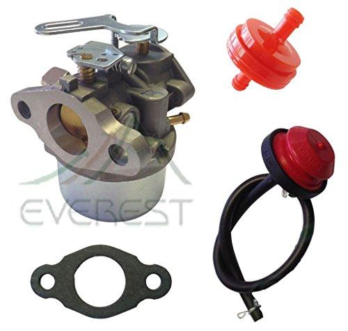 NEW REPLACEMENT CARBURETOR FITS TECUMSEH 632107A 632107 640084A 640084B SNOWBLOWER CARBURETOR PRIMER & FILTER (640084a Carburetor compare prices)