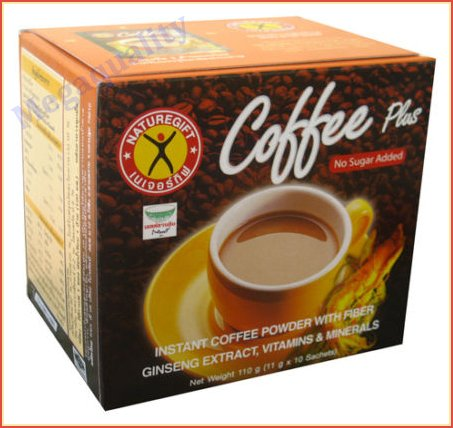 5X Weight Loss Diet Instant Coffee Plus Ginseng Naturegift 1 Box/10 Sachets Best Product From Thailand