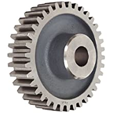 Boston Gear Spur Gear, 14.5 Pressure Angle, Cast Iron, Inch, 6 Pitch