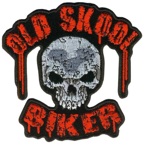 Hot Leathers Old Skool Biker Patch (4