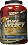 Champion Nutrition Pure Whey Protein Stack, Vanilla, 5-Pound Plastic Jar