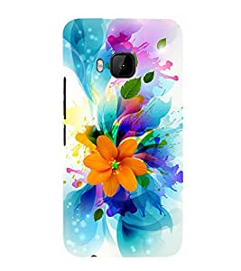 Fuson 3D Designer Back Case Cover For HTC One M9