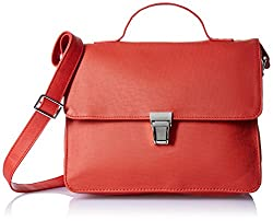 Baggit L Martee Andrew Women's Handbag (Tomato)